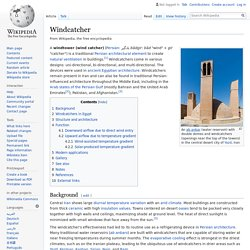 Windcatcher - Wikipedia