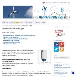 Vertikale Windkraftanlagen