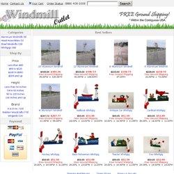 Shop Metal Windmills and Wood Windmills - Windmill Outlet