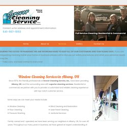 Window Cleaning Services in Albany, OR