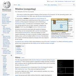 Window (computing)