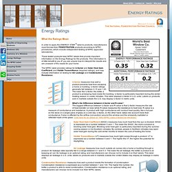 energy systems university pearltrees On window ratings