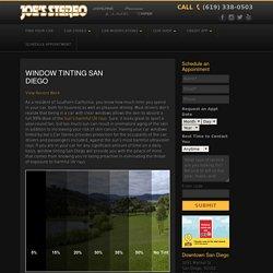 San Diego Window Tint - Joes Stereo
