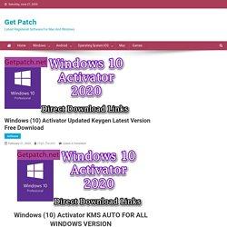 Windows 10 Activator, windows activator Free Download