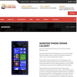 Windows Phone Repair Calgary