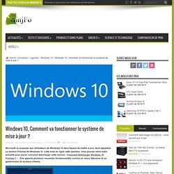 Windows 10, Comment va fonctionner le système de mise à jour ?
