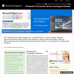 Windows 10 Customer Service,Support-888-606-4841