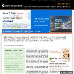888-606-4841@Windows Customer Service Phone Number