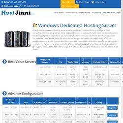 Choose more secure Web Hosting server