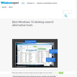 Best Windows 10 desktop search alternative tools