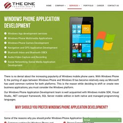 Windows Apps Development Company