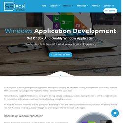 Windows Mobile/Phone App Development Company India &Australia