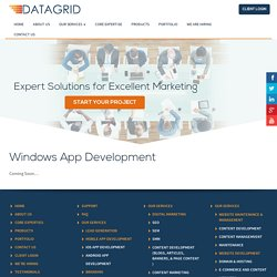 Windows App Development Company