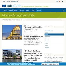 Windows, Doors, Curtain Walls