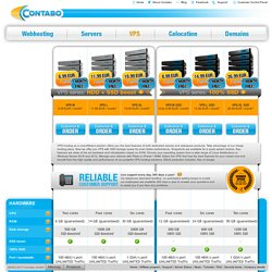 Cheap Windows & Linux VPS Hosting at an affordable price - Contabo.com