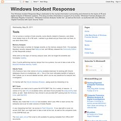 Windows Incident Response