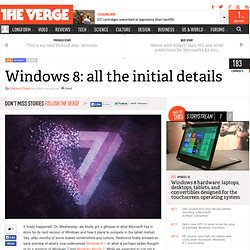 Windows 8: features, screenshots, and everything else you need to know