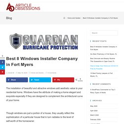 Best 8 Windows Installer Company in Fort Myers