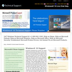 Windows 10 Live Chat Help,Support- 888-606-4841