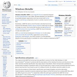 Windows Metafile