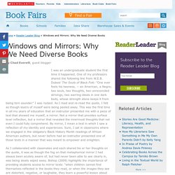Windows and Mirrors: Why We Need Diverse Books