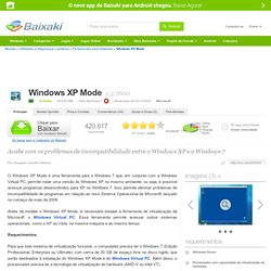 Windows XP Mode download