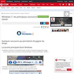 Windows 7 : les principaux raccourcis clavier