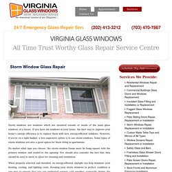 Storm Windows Repair Professionals