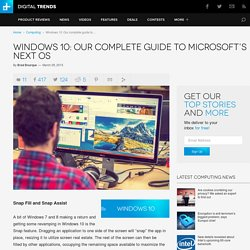 Windows 10: Release Date, News, Features, and More