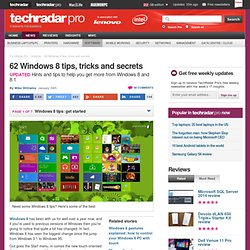 60 Windows 8 tips, tricks and secrets
