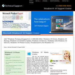 Windows 10 Support Center,Help-888-606-4841