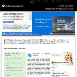 Windows 10 Support Center,Help-888-606-4841
