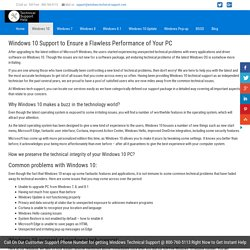 Windows 10 Technical Support-800-760-5113-Windows 10 Support Number
