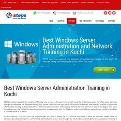 Windows Server Training in Kochi (Cochin)