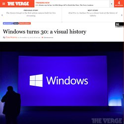Windows turns 30: a visual history
