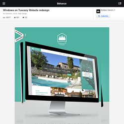 Windows on Tuscany Website redesign on Behance