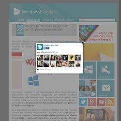 OneNote per Windows 8 aggiornato con 120 penne personalizzabili