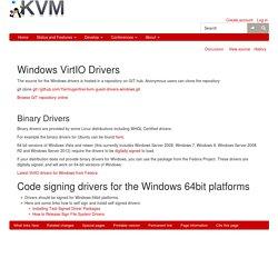 WindowsGuestDrivers/Download Drivers