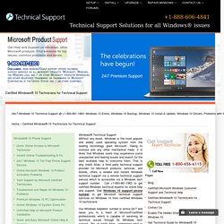 Windows® Technical Support,Help - 888-606-4841