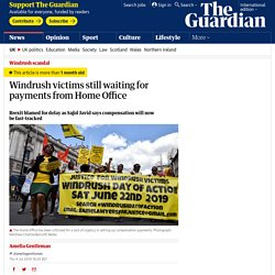 Windrush victims still waiting for payments from Home Office