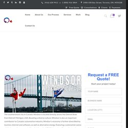 Windsor Ontario Web Design