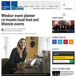 Windsor event planner re-invents local food and lifestyle events