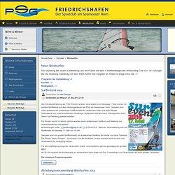 Windsurfen - PSG Friedrichshafen