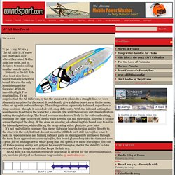 Windsurfing - JP All Ride Pro 96 - Windsport Magazine
