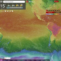 Windy, Windyty. Wind map & weather forecast
