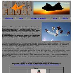 Human Flight : Ecole de wingsuit en Aquitaine et saut en parachute tandem à Arcachon et La Réole