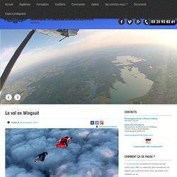 Saut en wingsuit - faire du vol en wingsuit