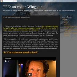 TPE: un vol en Wingsuit: II) Les sensations ressenties par Jeb Corliss