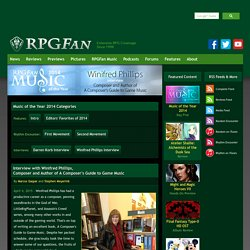 RPGFan Feature - Music of the Year 2014 ~ Winifred Phillips Interview