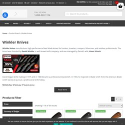 Winkler knives Story as one of the most popular brands now in Knife